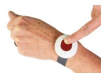 alarm knop voor senioren