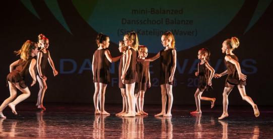 dansen op een dansschool