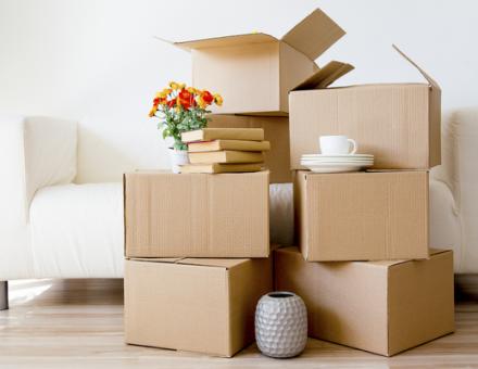 verhuisdozen huren van het verhuisbedrijf